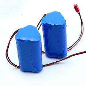 Conjunto de bateria de íon de lítio recarregável 3S1P 18650 10.8v 2250mah para dispositivo médico
