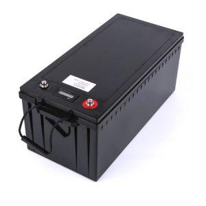 Bateria personalizada 24V 100AH 12v 200ah lifepo4 bateria para barco RV armazenamento de energia solar