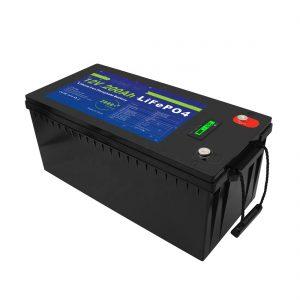 Deep Cycle 12V / 24V / 36V / 48V 200Ah UPS de armazenamento solar 12v LiFePO4 Baterias de armazenamento de lítio para carrinho de golfe