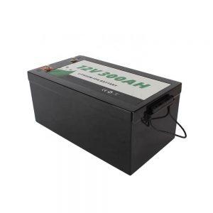 TUDO EM UM Solar RV Marine Lazer Lítio 12V 300Ah Bateria Lifepo4