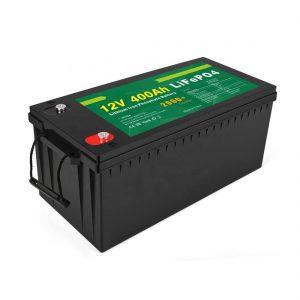Preço de fábrica Bateria LFP Solar de Ciclo Profundo 12v 400Ah Bateria Solar LiFePO4