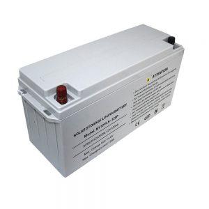 Bateria LiFePO4 de armazenamento de energia 12V 80Ah baterias solares para fontes de alimentação