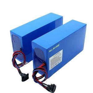 ALL IN ONE pilhas bateria elétrica 13S7P 18650 48v 20.3ah