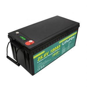 Bateria recarregável 24v180ah (LiFePO4) para iluminação pública solar