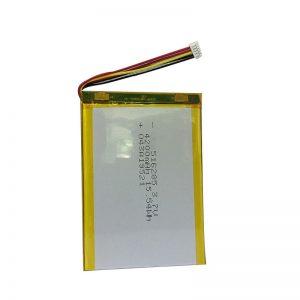 Bateria de polímero de lítio 516285 3,7 V 4200mAh para instrumentos domésticos inteligentes