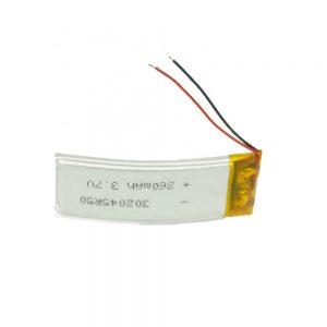 Bateria Personalizada LiPO 302045 3,7 V 260mAh