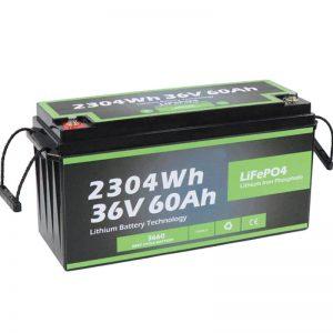 Projeto de segurança para tomadas de fábrica Long Life Marine 36v 60ah Bateria Lifepo4