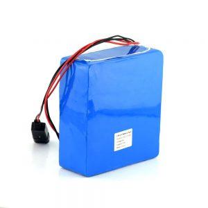 Bateria de íon de lítio recarregável 48V 15Ah 20Ah Bateria de scooter elétrica de 48 volts para bicicleta