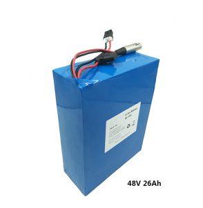 Bateria de lítio 48v26ah para etwow scooters elétricos motocicleta elétrica bateria de grafeno fabricantes de bateria de lítio 48 volts