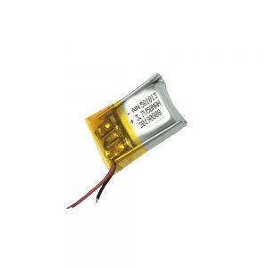 Bateria de polímero de lítio de alta qualidade 3.7V 50mAh 581013