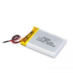 China Wholesale 3.7V 600Mah 650Mah Mini Li-Polymer bateria de lítio recarregável pack para carro de brinquedo