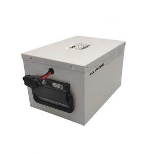 TUDO EM UM Bateria LiFePO4 de longa duração para sistema de armazenamento de energia doméstico