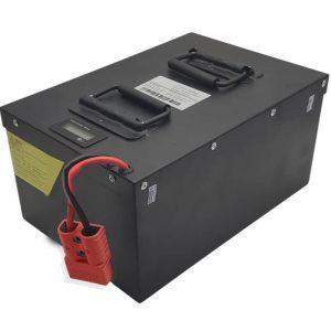 TUDO EM UM Bateria LiFePO4 72V60Ah de alta capacidade com BMS inteligente para veículos elétricos