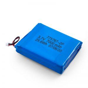 Bateria lipo de polímero de 3,7 V 2450 2600 3900 4000 4500 4700 5000 6000 9000Mah personalizada
