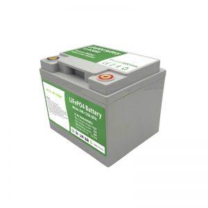 ALL IN ONE 2000 ciclos Bateria LiFePO4 12V50Ah com BMS inteligente para sistema de armazenamento de energia doméstico