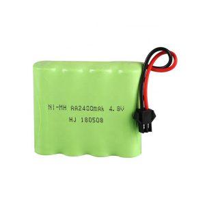 Bateria NiMH recarregável AA2400mAH 4,8 V