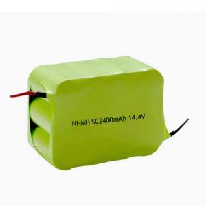 Bateria recarregável NiMH SC 2400mAH 14,4V