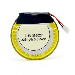 Bateria LiPO Personalizada 363027 3,7 V 225mAH