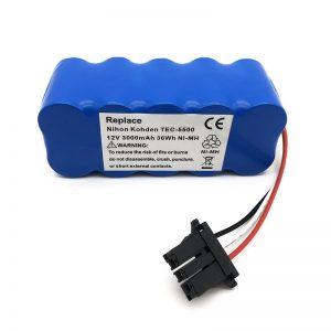 Bateria 12v ni-mh para aspirador TEC-5500, TEC-5521, TEC-5531, TEC-7621, TEC-7631